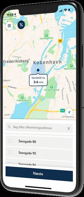 Download TAXA 4x35 app - Danmarks bedste taxi app