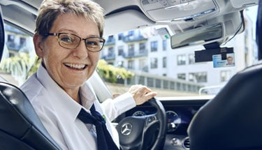 Get a taxi agreement for businesses